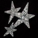 Star Cluster Pewter Accent Employee Awards