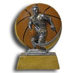 Basketball - Male MXG5 Colorful Resin Trophy Awards