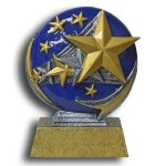 Star MXG5 Colorful Resin Trophy Awards