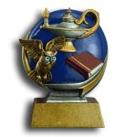 Lamp of Knowledge MXG5 Colorful Resin Trophy Awards