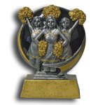 Cheerleading MXG5 Colorful Resin Trophy Awards