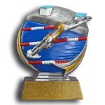 Swimming - Female MXG5 Colorful Resin Trophy Awards