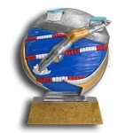 Swimming - Male MXG5 Colorful Resin Trophy Awards