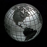 Globe Pewter Accent Sales Awards