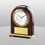 Rosewood Desk Clock Sales Awards