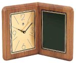 American Walnut Album Clock Secretary Gift Awards