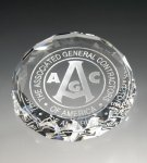 Round Paperweight Secretary Gift Awards