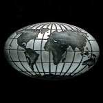 Global Pewter Accent Stone Glass Awards