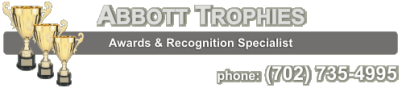 Abbott Trophies - Wall Clock Award, Desk Clock Awards, Mantle Clock Awards, Custom Clock Trophies